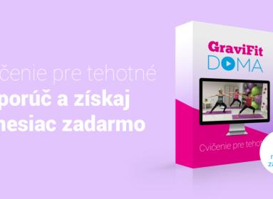 GraviFit Doma na 1 mesiac zadarmo