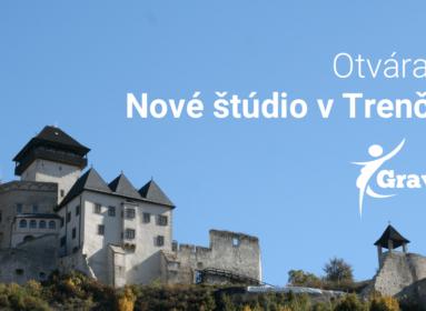 Otvárame nové štúdia v Trenčíne