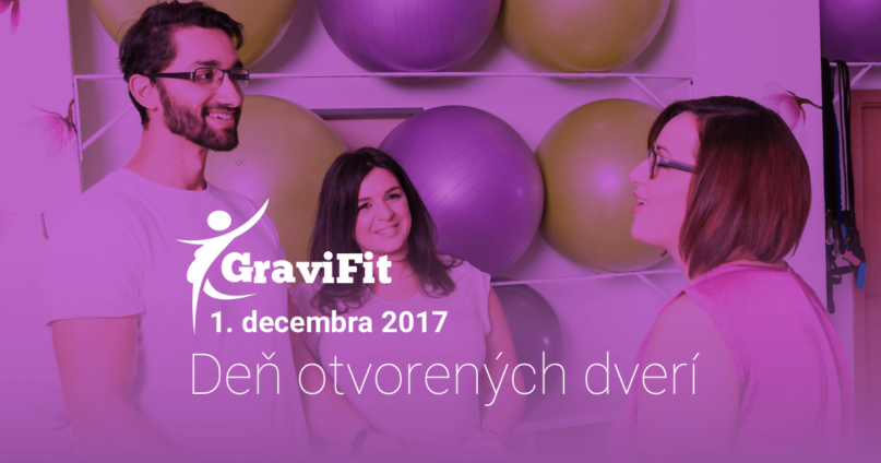 Deň otvorených dverí GraviFit, December 2017