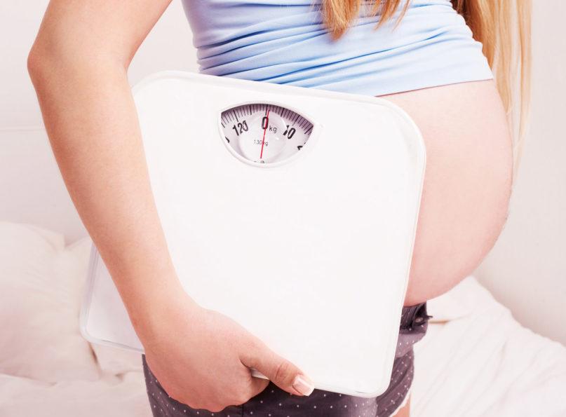Hmotnost v tehotenstve